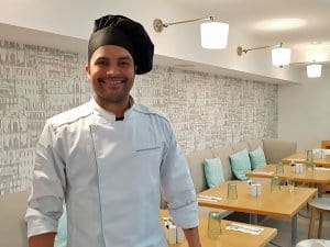 Chef at the Quinta do Lago Country Club
