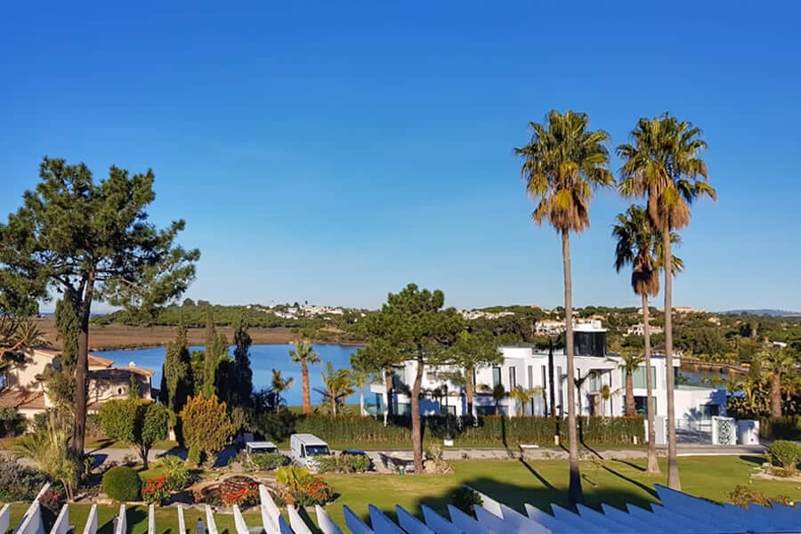 View from Quinta do Lago CC