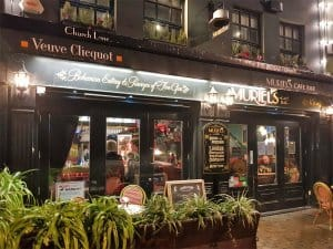 Muriel's Cafe and Bar, one of the best bars in Belfast