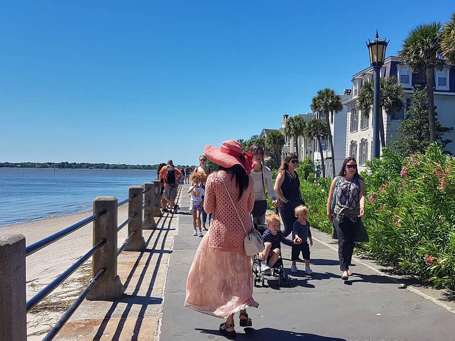 The waterfront in Charleston, South Carolina
