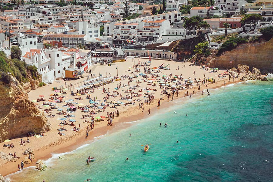 Carvoeiro By Dave Anderson