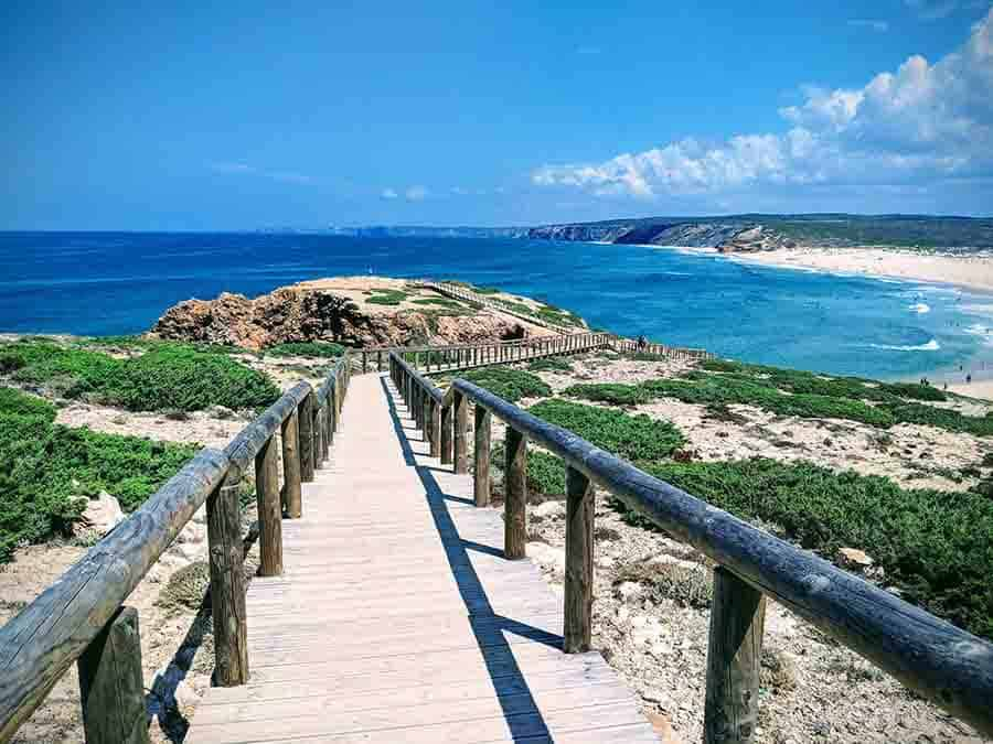 Praia Da Bordeira by James Cave