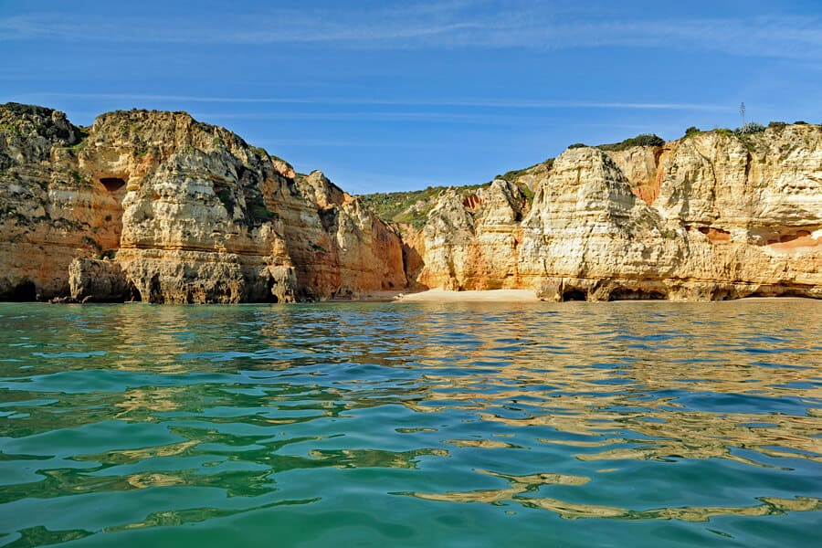 Ponta da Piedade, one of many fabulous places to kayak in the Algarve, Portugal
