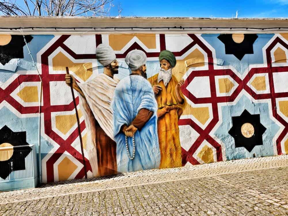 Street Art in Silves by Karen Davies