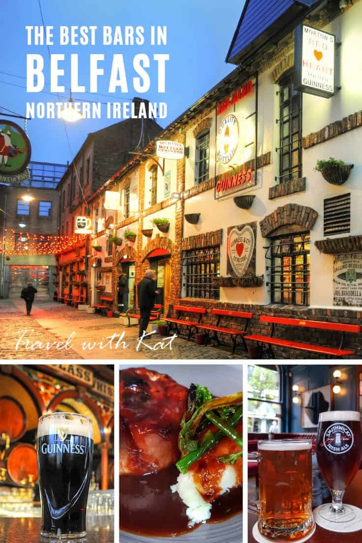 Where and what to drink in Belfast, Northern Ireland #beer #Guinness #Belfast #NorthernIreland