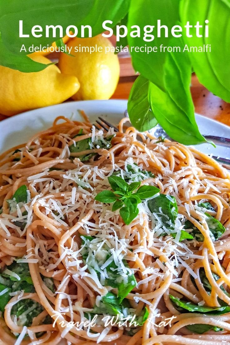 Amalfi Lemon Spaghetti recipe by Lotte Duncan #Lemons #Pasta #Spaghetti #Recipe #LemonSpaghetti #easyRecipe #SummerRecipes #easySummerRecipes #easySummerRecipes #EasyDinners #EasySummerLunches
