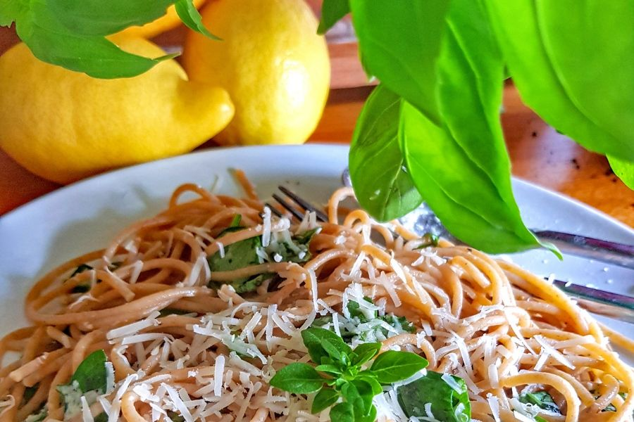 Amalfi Lemon Spaghetti Recipe