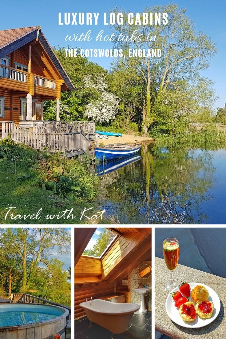 Luxury lodges with hot tubs in the Cotswolds, England | Lg House Holidays #logcabins #cotswolds #hottubs #England
