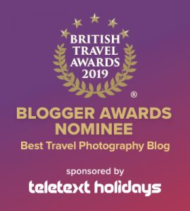Travel Photography Award nominee badge
