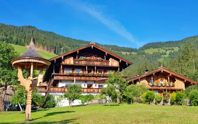 Summer in Alpbach, the prettiest village in Austria