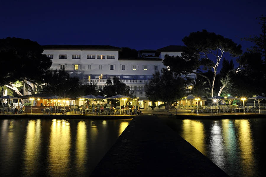 Hotel Bon Sol on the Bay of Pollenca, Mallorca