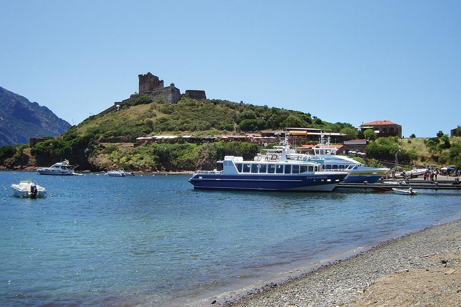 The beach at Girolata, Corsica
