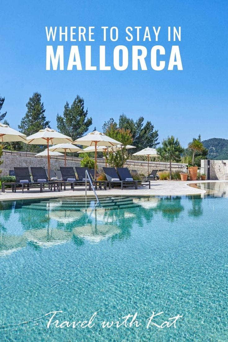 Where to stay in Mallorca, Spain #Mallorca #Spain #IbericIslands #luxuryhotels #boutiquehotels #budgethotels