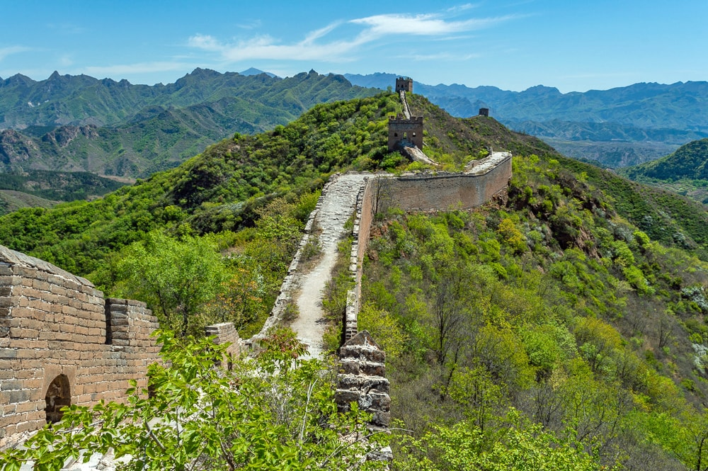 Landmarks in China | Great Wall of China Jinshanling