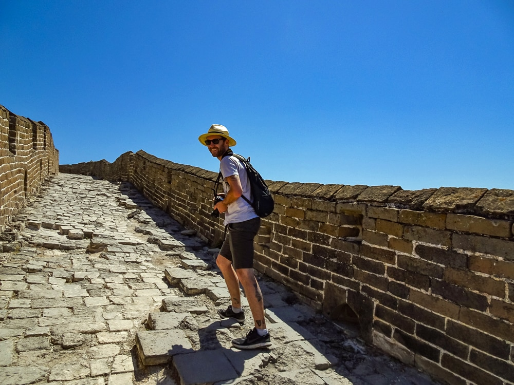 Ben, Walking the Great Wall of China