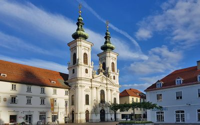 Self-guided walking tour of Old Town Graz