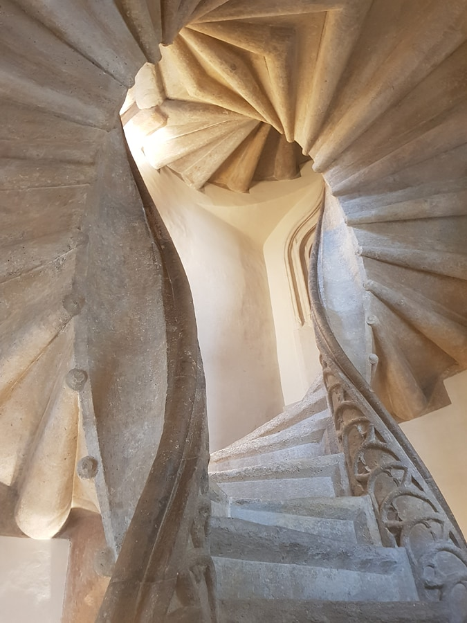 Doppelwendeltreppe | Double Spiral Staircase