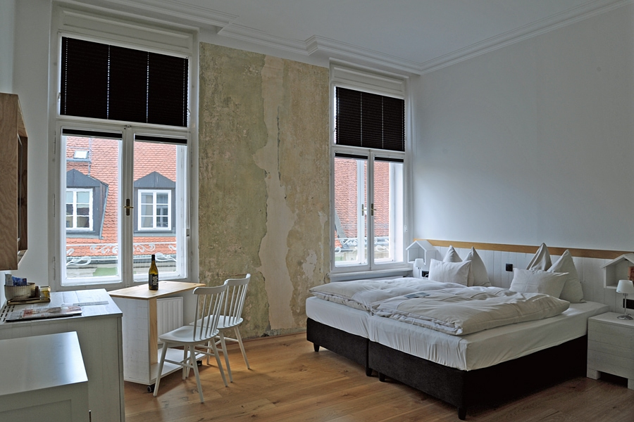 My roome at the Grand Hôtel Wiesler, Graz, Austria