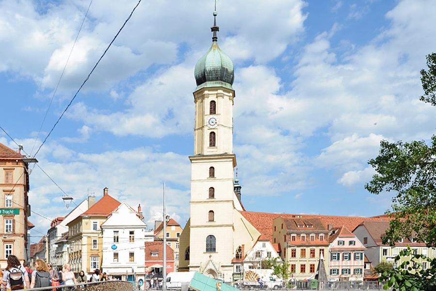 Franciscan Church. Graz, Austria