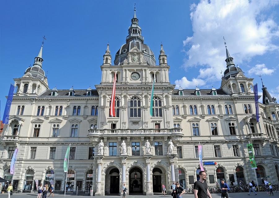 Rathaus der Stadt | Graz Town Hall