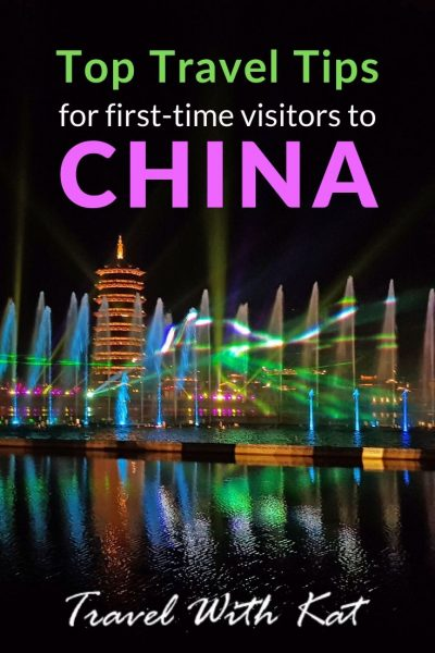 Top Travel Tips for first-time visitors to China | From applying for a China travel visa to how to get around, here are mine and my fellow travel bloggers tips for first-time visitors to China. #traveltips #china #chinesevisatips #chinavisa #chinatraveltips