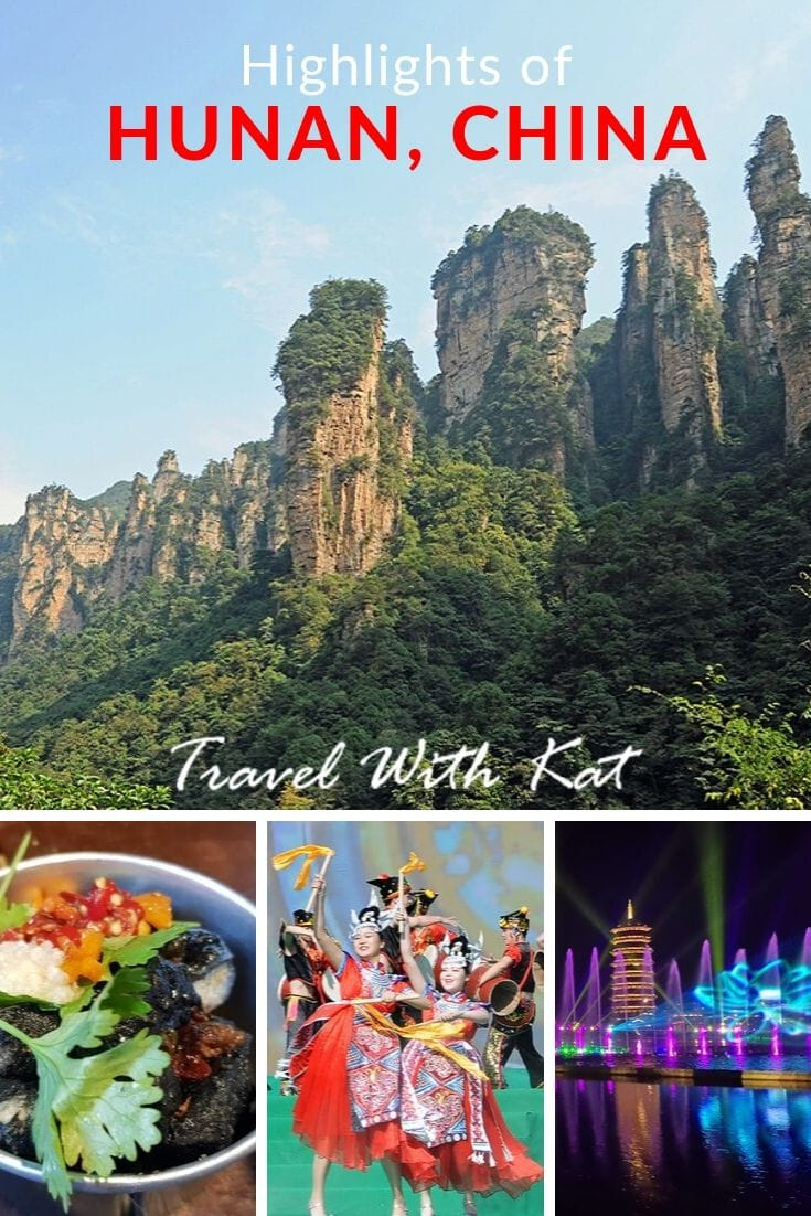 Highlights of Hunan Province in China, from Mao Zedong's birthplace to the soaring pinnacles of Zhangjiajie National Forest Park. #Hunan #China #Zhangjiajie