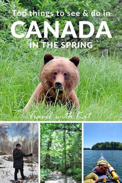 Top 7 things to see and do in Canada in the spring