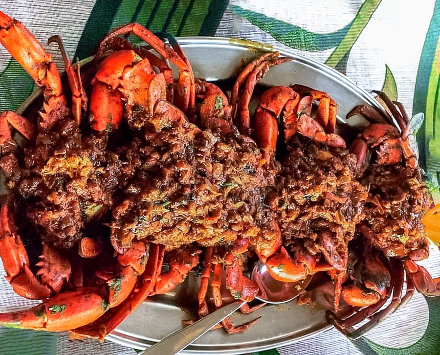 Crab Masala by Sudipto