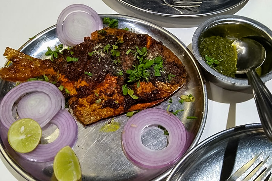 Masala FIsh Fry by Mahesh