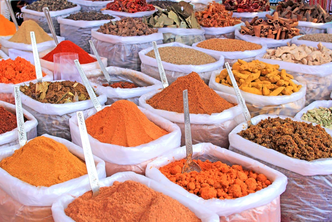 Food of Goa | Colourful spices, India