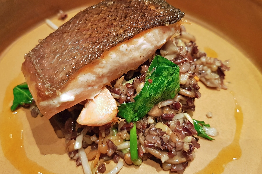 Food in Manila - Akaroa Salmon,Wildflour Cafe