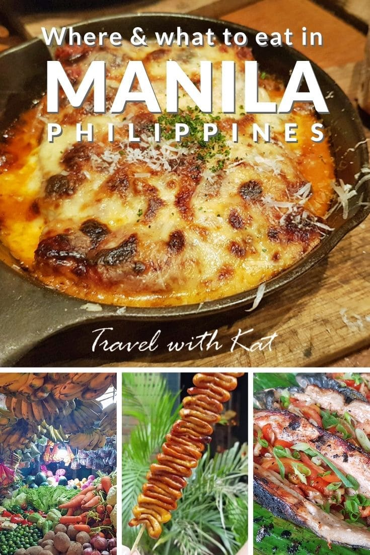 Where & what to eat in #Manila, #Philippines