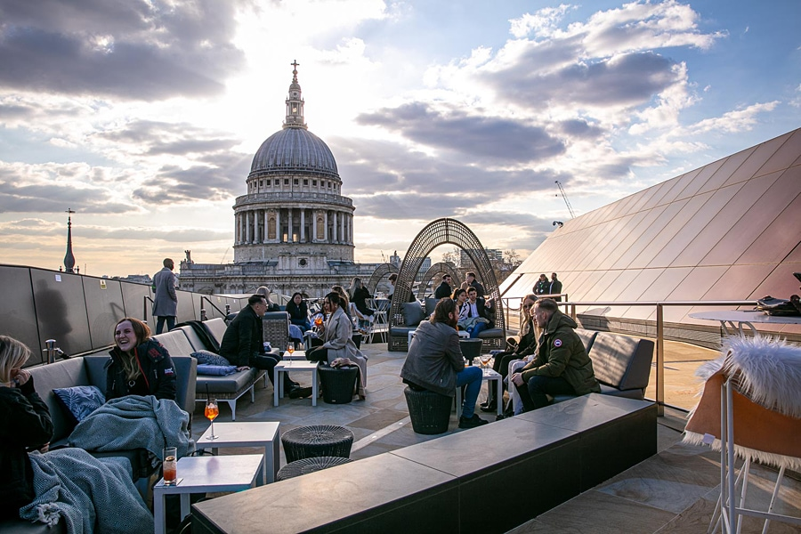 The best beer gardens and alfresco dining in London