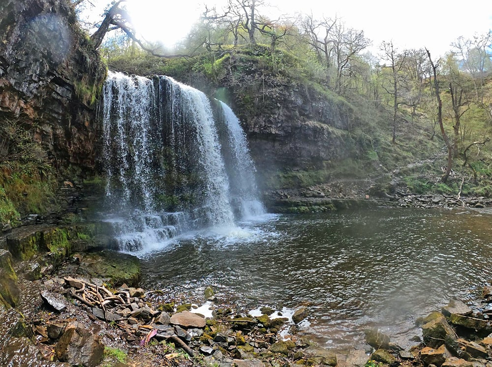 Sgwd Yr Eira Waterfall, one of the most beautiful places in the UK