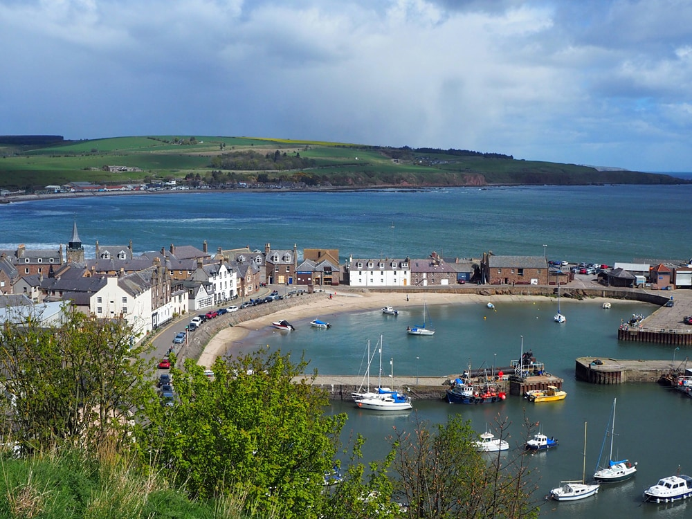 Stonehave, one of the most beutidul harbour towns in Scotlandn