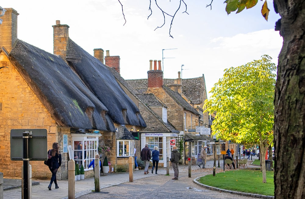 Broadway, one of the loveiest villages in England