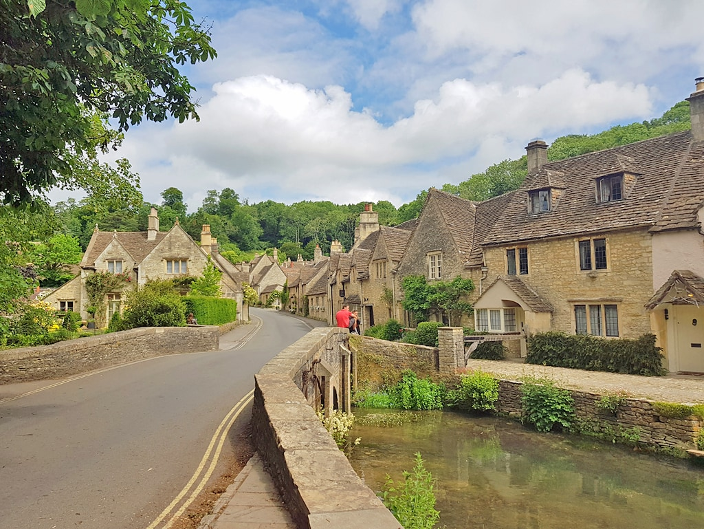 Castle Combe, reputedly the prettiest village in England