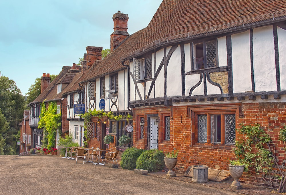 Chilham, one of the prettiest villages in Kent