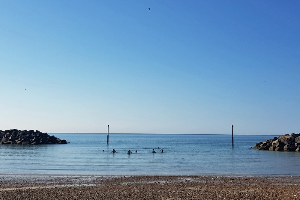 Cold water swimming with my local group of Bluetit Chill Swimmers