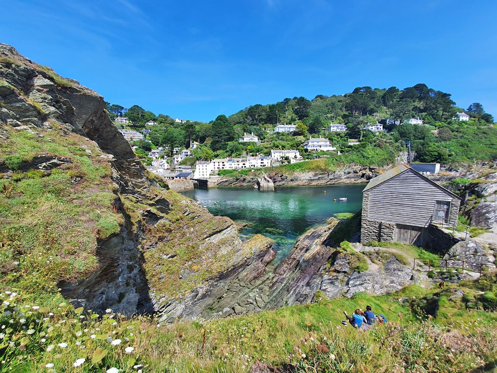 Polperro, one ofthe prettiest villages in Cornwall, England