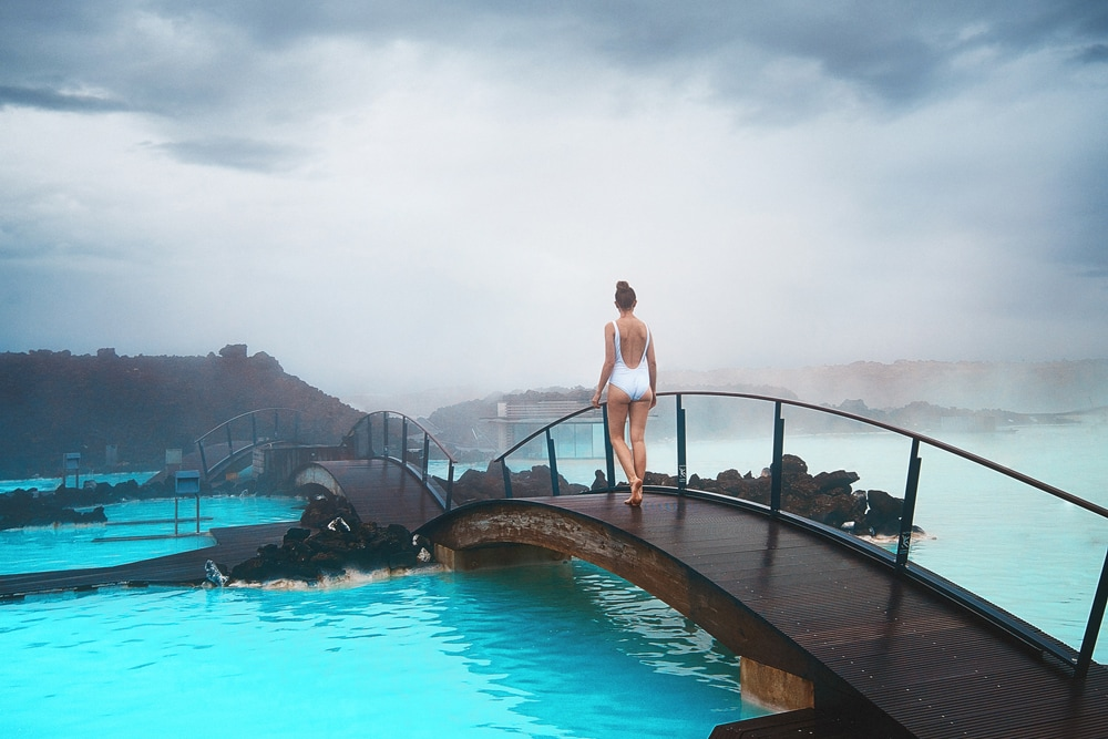 BLue Lagoon, one of the best hot springs around the world