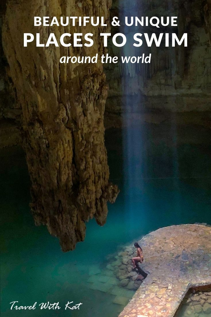 Quirky places to swim around the world