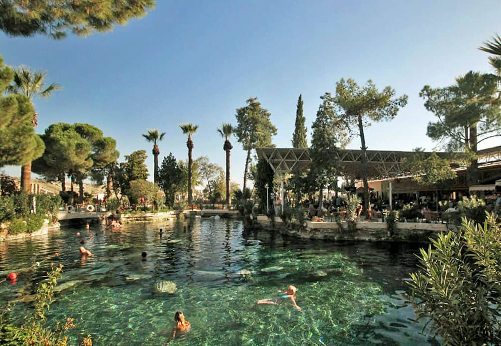 Cleopatras pool - one of quirkiest thermal spas in the world
