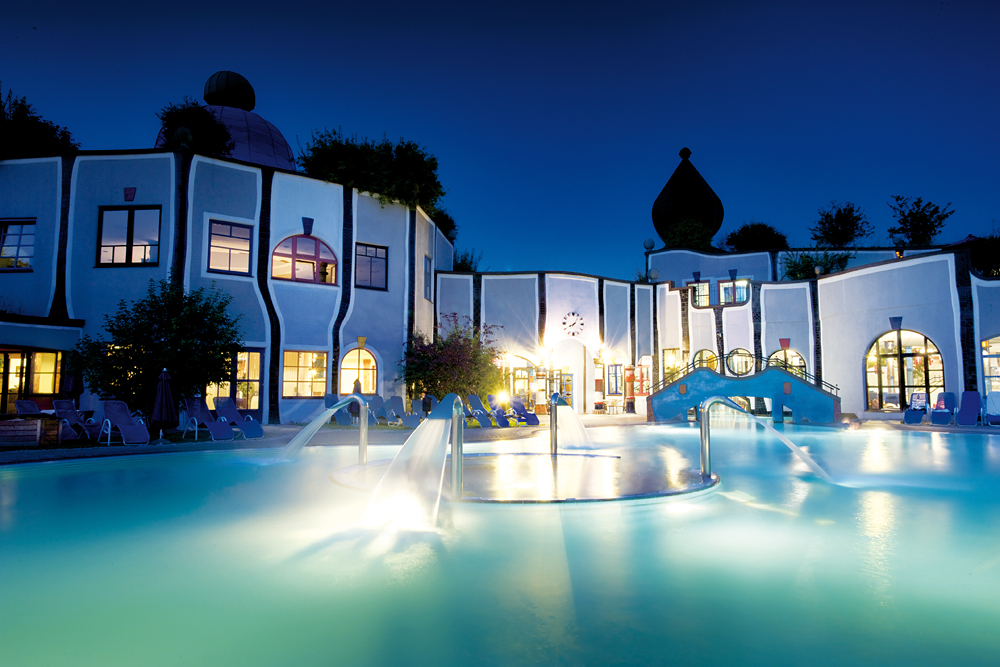 Thermal spas around the world - Rogner Bad Blumau, Austria